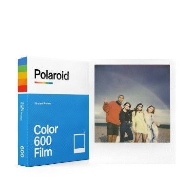Polaroid Color Film for 600- White Frame
