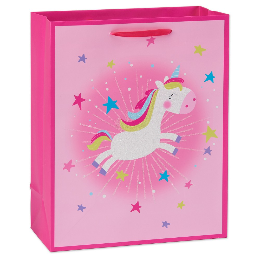 Gift Bag Unicorn - Spritz, Cyber Pink