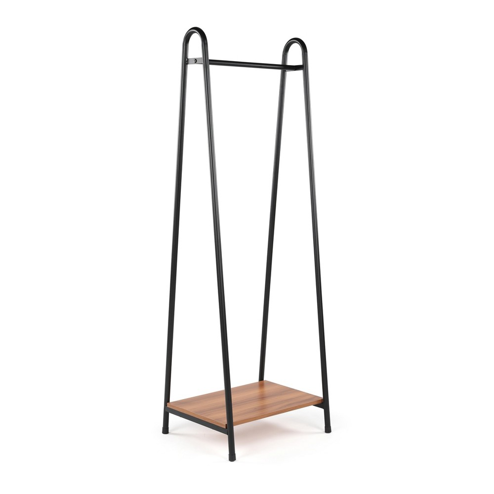 Image of Freestanding Coat Rack Lucky Theory, Brown