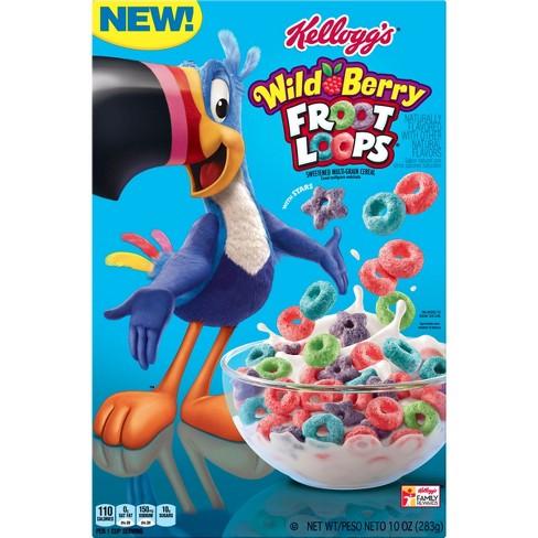 froot loops wildberry breakfast cereal 10oz kellogg s target