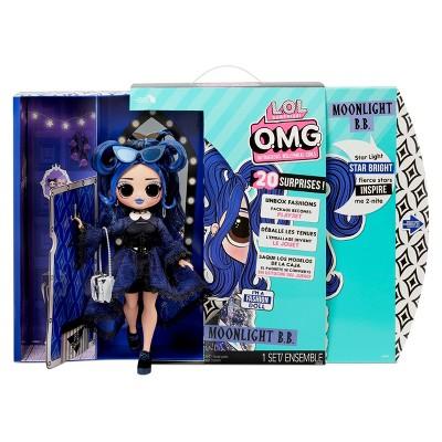 L.O.L. Surprise! O.M.G. Moonlight B.B. Fashion Doll with 20 Surprises