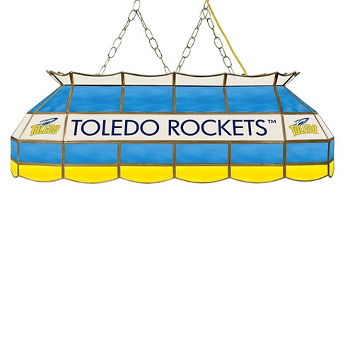 "NCAA Toledo Rockets Stained Glass Tiffany Lamp - 40"" - image 1 of 1"