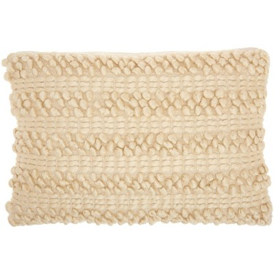 Life Styles Woven Striped Throw Pillow - Mina Victory