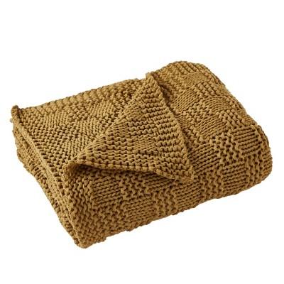 "Modern Threads Acrylic Knit Throw 50"" x 70"", Phelon."