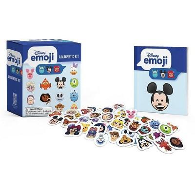Disney Emoji: A Magnetic Kit - (Rp Minis) (Paperback)