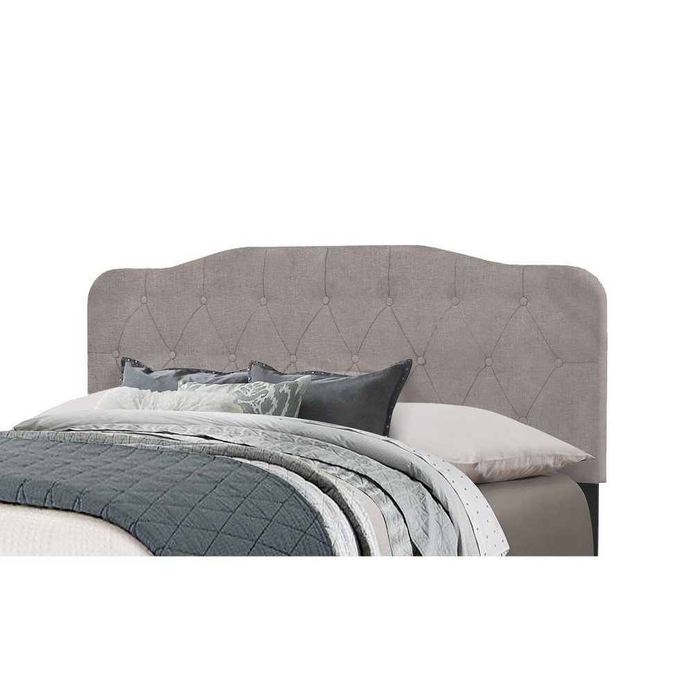 Full/Queen Nicole Headboard Frame Included Stone Gray - Hillsdale Furniture