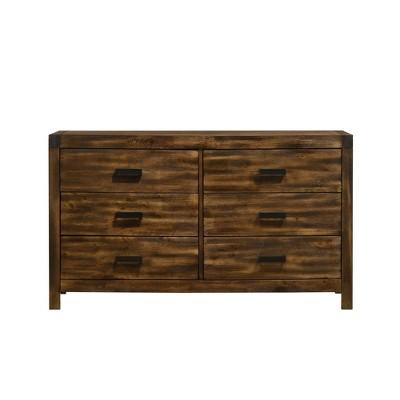 Wren 6 Drawer Dresser Chestnut - Picket House Furnishings
