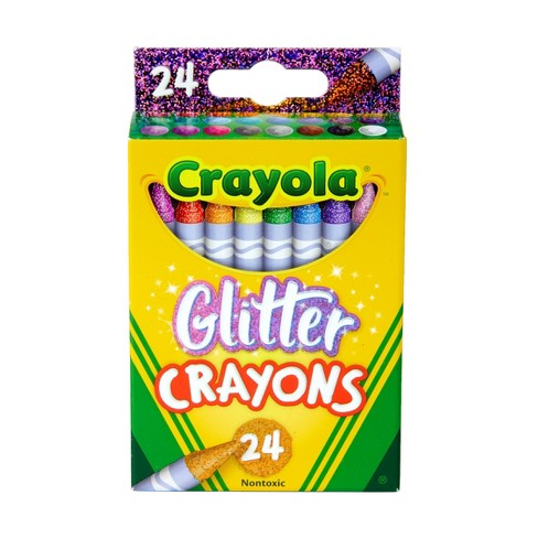 Crayola 24ct Crayons - Glitter - image 1 of 4