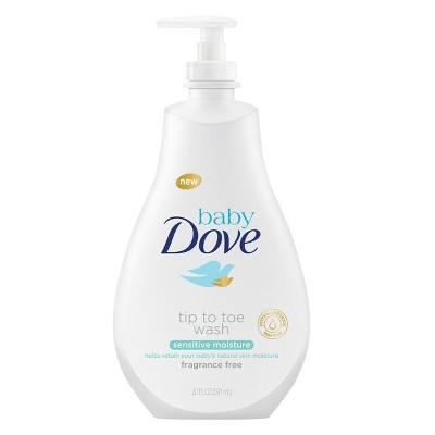 Baby Dove Sensitive Moisture Tip-to-Toe Wash - 20oz