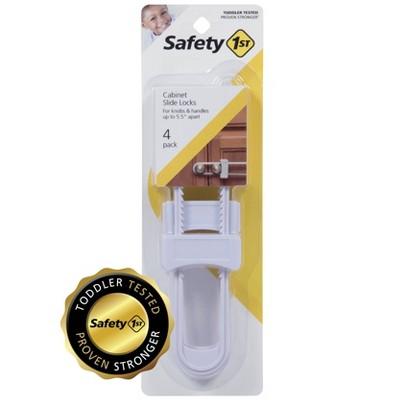 Safety 1st Cabinet Slide Locks - 4pk