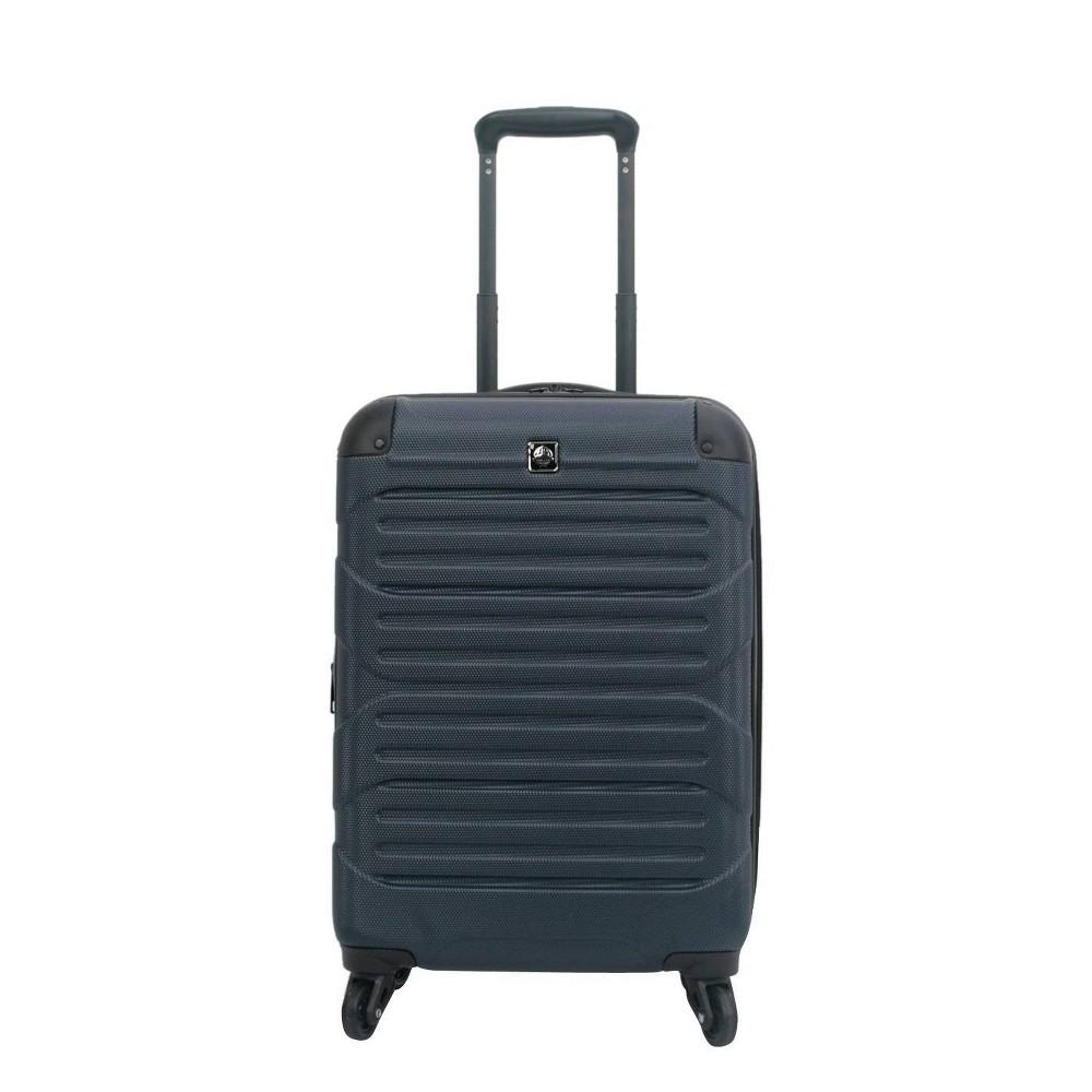 "Image of ""Skyline 20"""" Hardside Spinner Carry On Suitcase - Navy, Blue"""