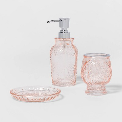 Glass Bath Bundle Blush - Opalhouse™
