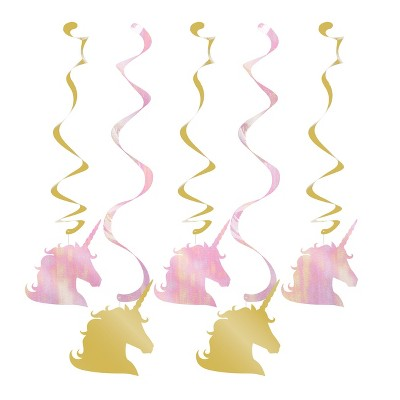 5ct Unicorn Sparkle Dizzy Danglers