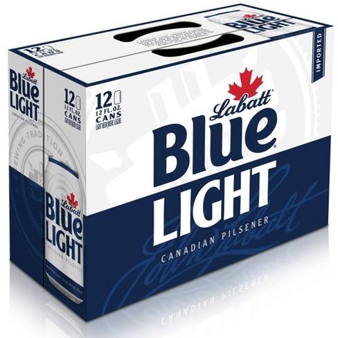 Labatt Blue Light Canadian Pilsner Beer - 12pk/12 fl oz Cans - image 1 of 2