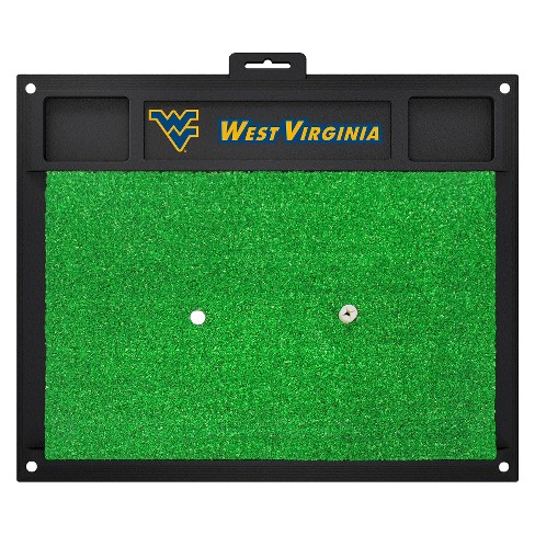 West Virginia Mountaineers Fan mats Golf Hitting Mat - image 1 of 1