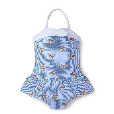Hope & Henry Girls Knot One-Piece Swim Suit, Kids
