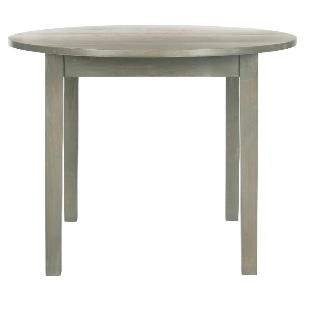 Holly Dining Table - Gray - Safavieh