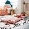 Decorative Solid Chaise Lounge Pillow Blush - Opalhouse™ - image 4 of 4