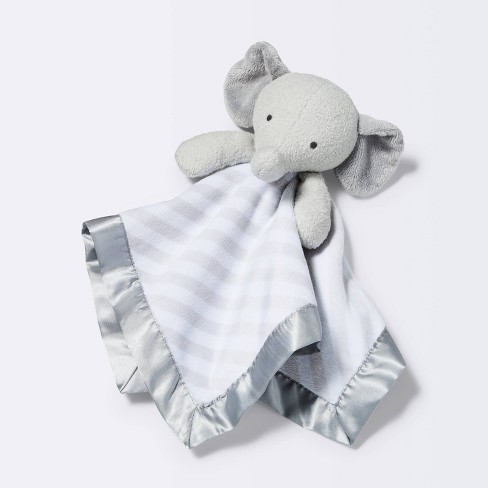 Small Security Blanket Elephant - Cloud Island™  Gray - image 1 of 3