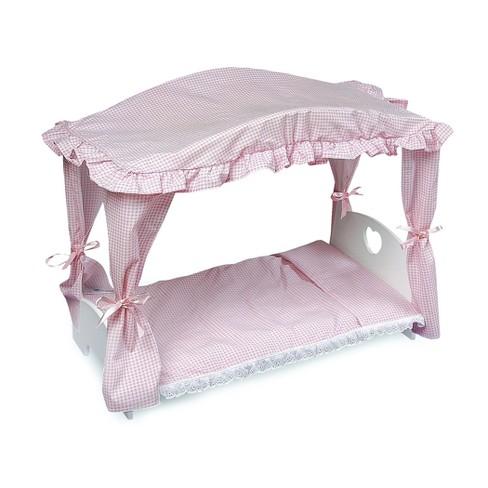 Badger Basket Doll Canopy Bed - image 1 of 4