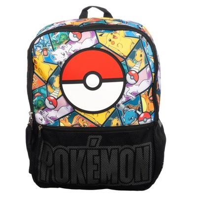 """Pokemon Mesh Pocket 16"""" Kids' Backpack"""