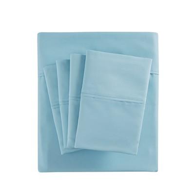 Cotton Blend 6pc Sheet Set 800 Thread Count (Queen)Aqua