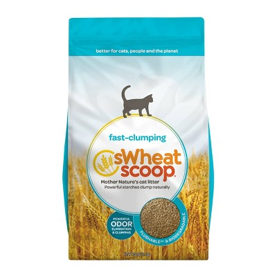 sWheat Scoop Clumping Natural Cat Litter