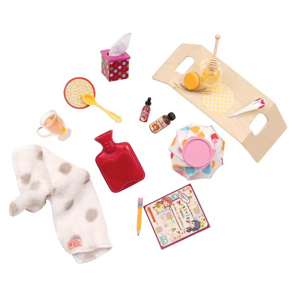 Our Generation Sick At Home Accessory Set
