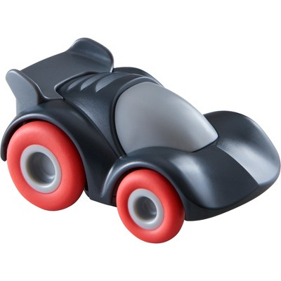 HABA Kullerbu Black Speedster Race Car with Momentum Motor