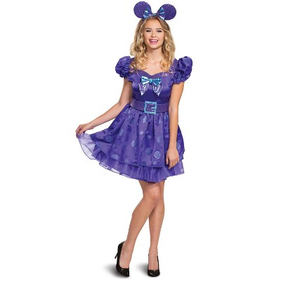 Mickey Mouse Clubhouse Minnie Potion Purple Deluxe Adult Costume