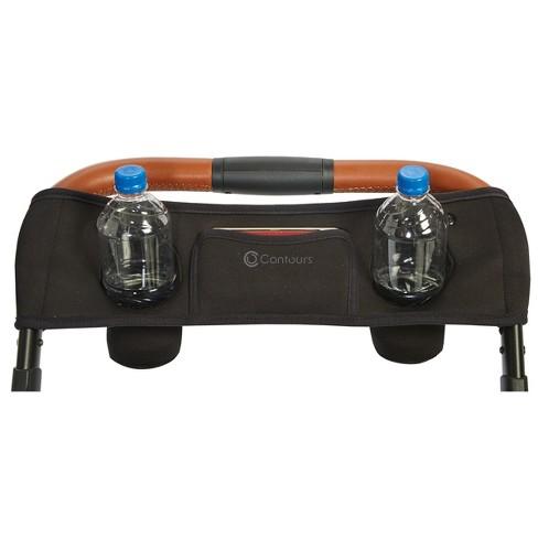 Contours Parent Console Stroller Accessory - Black - image 1 of 3