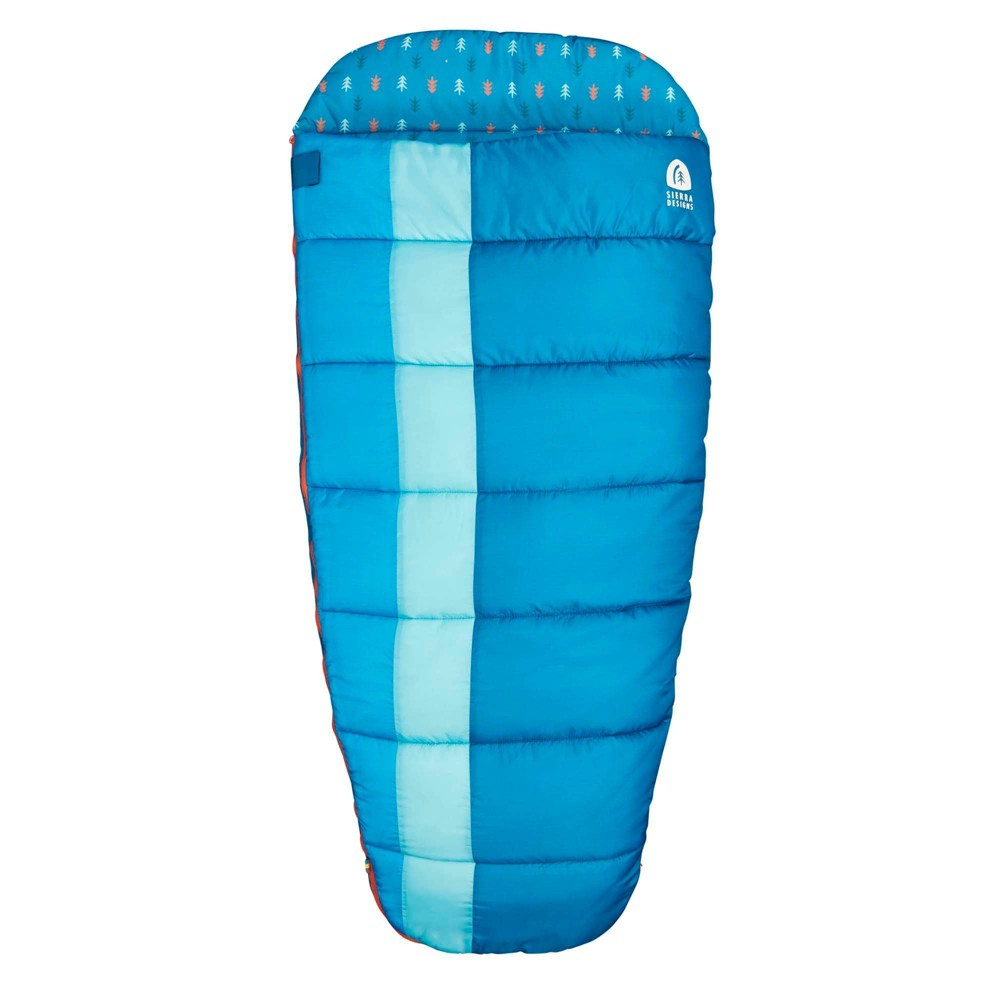 Sierra Designs Sundance 40 Degree Fahrenheit Youth Sleeping Bag Blue