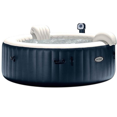 Intex 28409E Pure Spa 4-Person Inflatable Heated Hot Tub With Soft Foam Headrest - image 1 of 4