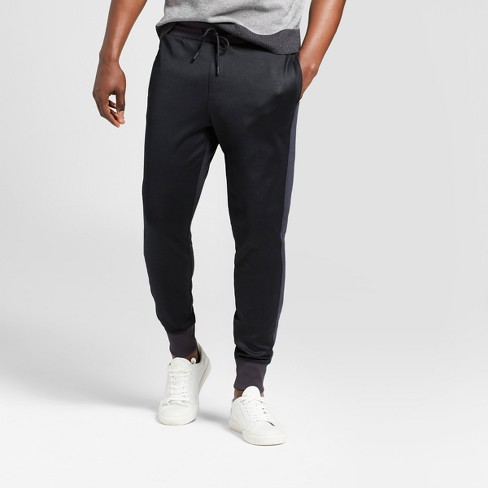 Men's Jogger Track Pants - Goodfellow & Co™ Black - image 1 of 3