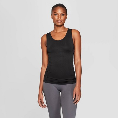 Women's Nursing Seamless Smoothing Tank - Auden™ Black M