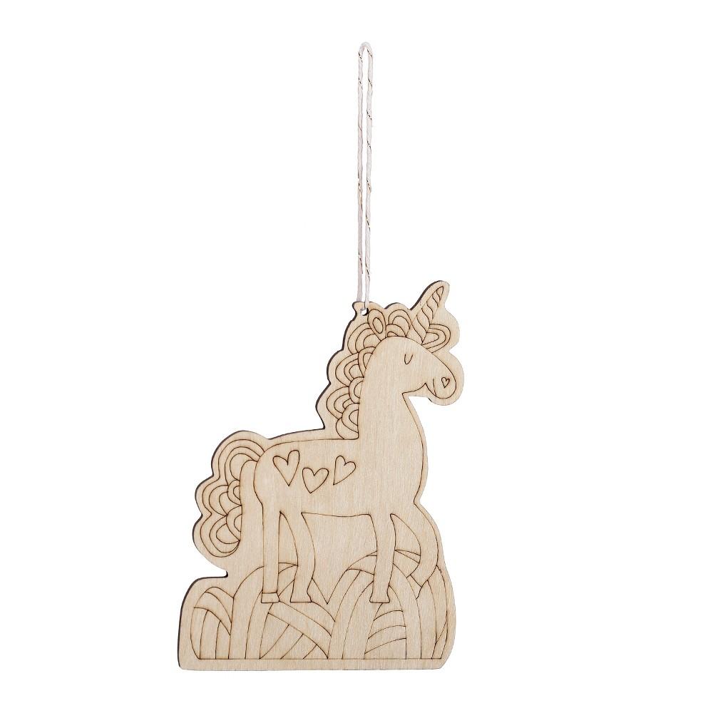 Unfinished Craft Products White Unicorn - Spritz, Natural