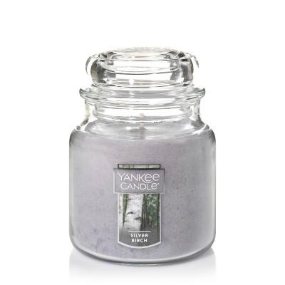 14.5oz Glass Jar Silver Birch Candle - Yankee Candle