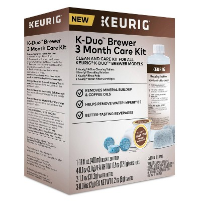 Keurig K-Duo Brewer Care Kit