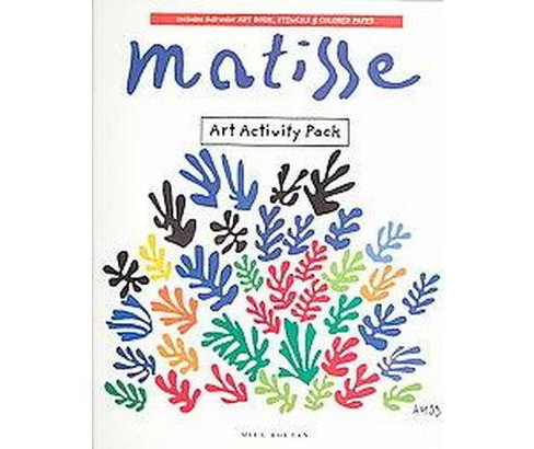 Matisse Art Activity Pack (Paperback) (Mila Boutan) - image 1 of 1