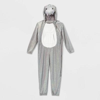 Kids' Adaptive Plush Shark Halloween Costume Jumpsuit - Hyde & EEK! Boutique™