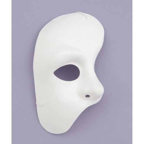 Forum Novelties White Half Phantom Of The Opera Adult Costume Mask Target