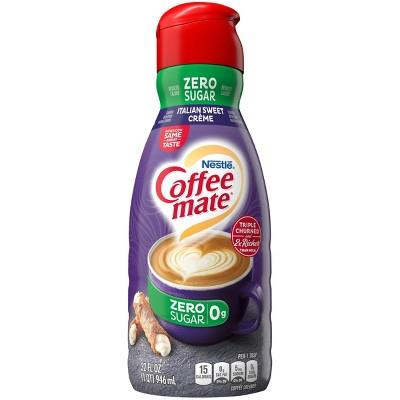 Coffee mate Zero Sugar Italian Sweet Crème Coffee Creamer - 1qt