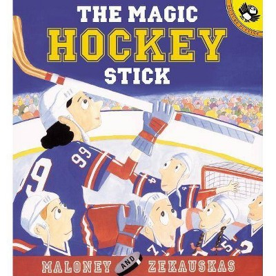 The Magic Hockey Stick - (Picture Puffin Books)by Peter Maloney (Paperback)