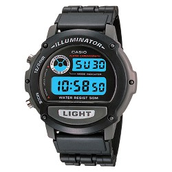 Men's Casio Digital Sport Watch - Black (W87H-1V)
