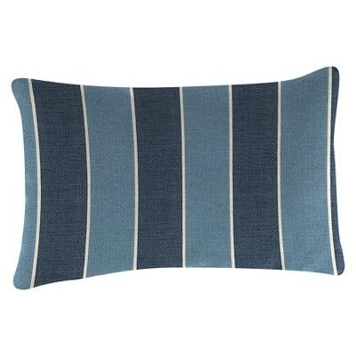 Outdoor Throw Pillow Set Blue - Jordan Manufacturing