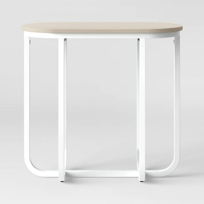 Tiverton Pill Accent Table White - Project 62™