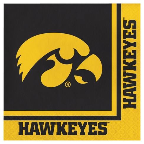 20ct University Of Iowa Hawkeyes Napkins - NCAA - image 1 of 2