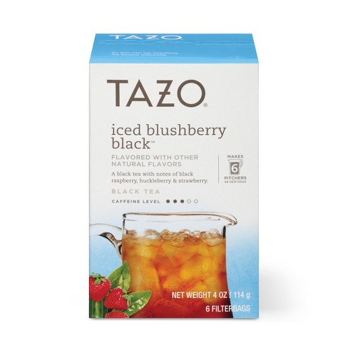 Tazo Iced Blushberry Black Tea 6 ct - image 1 of 4