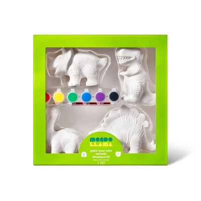 Paint-Your-Own Ceramic Dinosaurs Kit - Mondo Llama™
