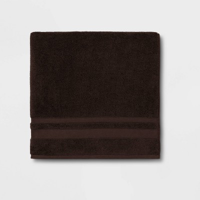 Performance Bath Sheet Dark Brown - Threshold™